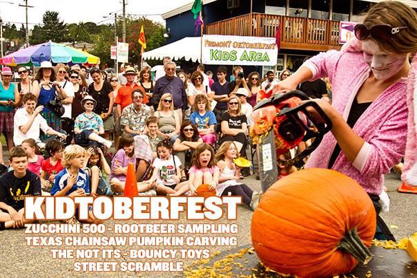 pumpkin carving - fremont Oktoberfest