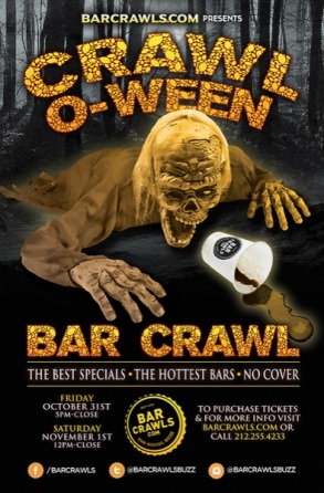 Downtown Seattle Halloween Pub Crawl