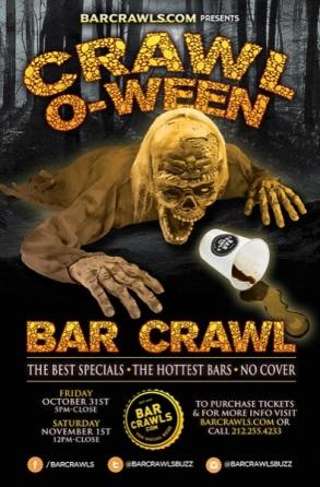 Downtown Seattle Halloween Pub Crawl